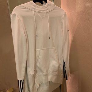 never worn adidas white jacket
